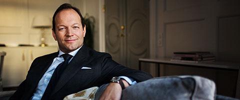 Magnus Karlberg, CFO på Grand Hôtel i Stockholm