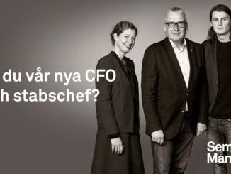 Semrén & Månsson Group - Är du vår nya CFO och stabschef?