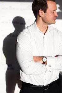 Magnus Teeling, CFO på Daniel Wellington