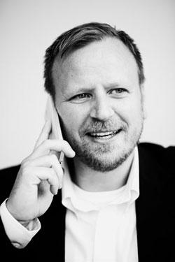 Johan Dovander, CFO på Microsoft AB